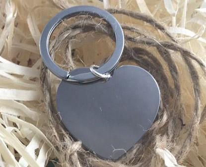 брелок сердце для гравировки