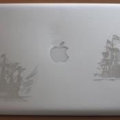 Рисунок на ноутбуке 5