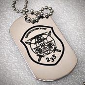 Гравировка Dog Teg (военных жетонов)