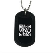 гравировка QR кода
