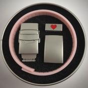 розовый браслет элит, упаковка